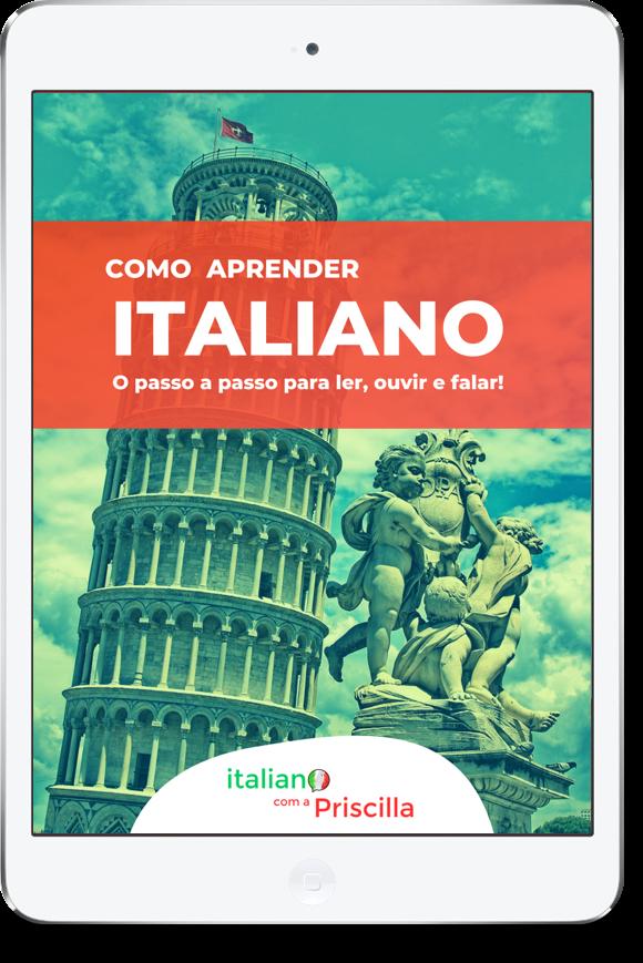 Ebook italiano - Como aprender italiano