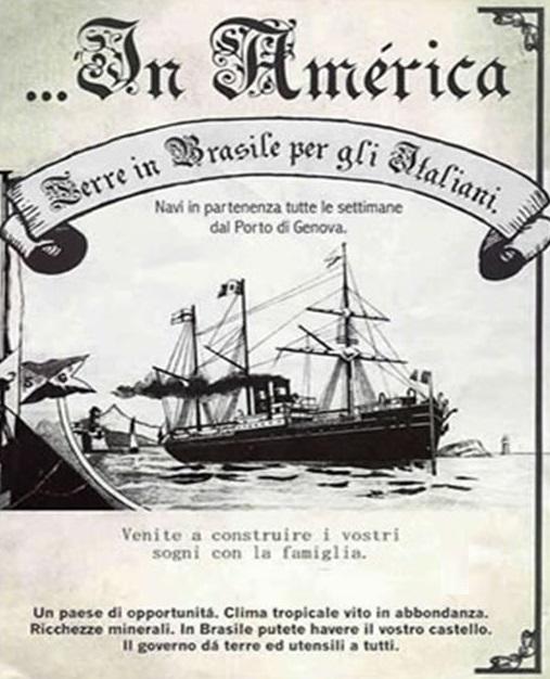 Cartaz - Dia do Imigrante Italiano