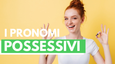 Pronomes possessivos em italiano