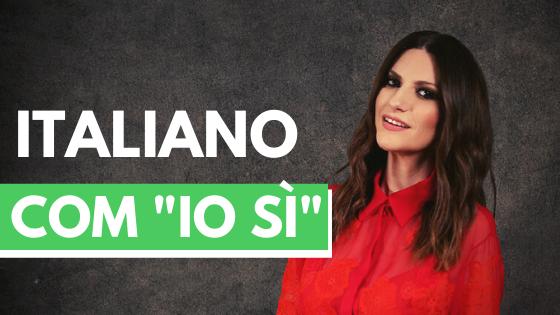 Io Si Cover - Italiano com a Priscilla - Aprenda Italiano de Forma Eficiente