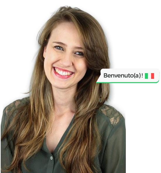 Benvenuto - Italiano com a Priscilla - Aprenda Italiano de Forma Eficiente