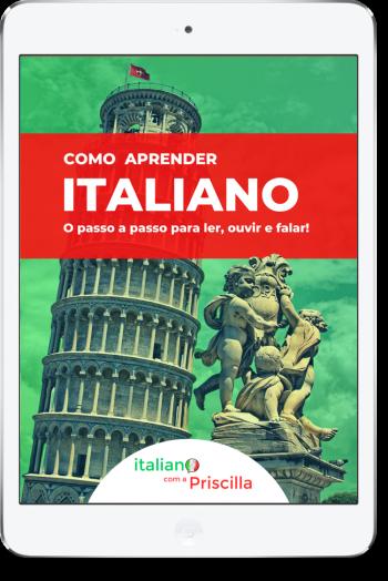Ebook Italiano com a Priscilla3 2 - Sobre Italiano com a Priscilla
