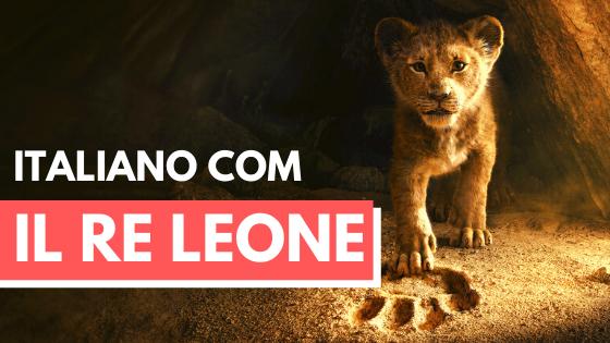 Il Re Leone Cover - Luca